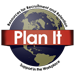 Image of a globe flanked by the text 'Resources for Recruitment and Retention, Support in the Workplace' and wrapped in a banner that says 'Plan It.'